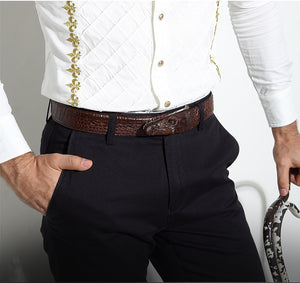 Premium Crocodile Belts for Men