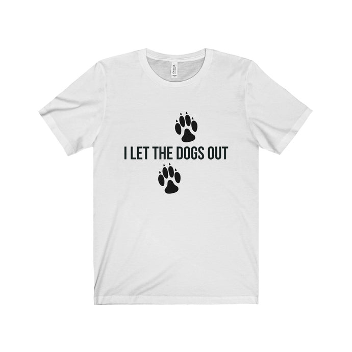 Unisex Dogs Out Short Sleeve Tee