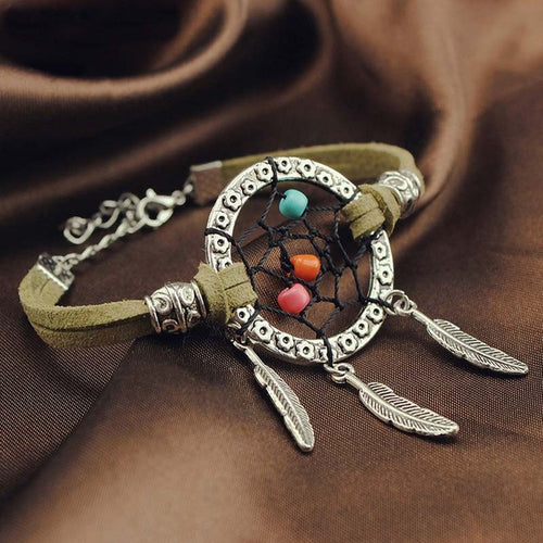 Handmade Dream Catcher Bracelet
