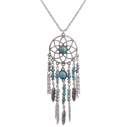 Native American Dream Catcher Necklace