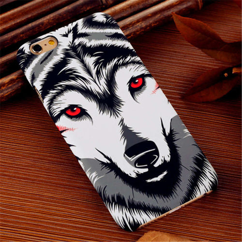 Luminous Wolf Phone Cases For iPhone