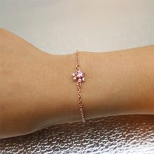 Rose Gold Coyote Paw Bracelet