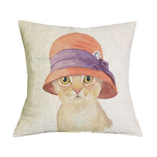 Premium Vintage Kitty Cushion Covers