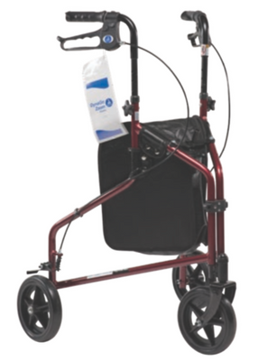 DynaGo Zoom Aluminum Rollator with 3