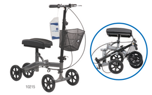 Steerable Knee Walker with Basket - Compact