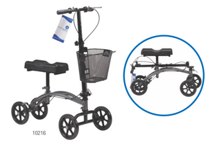 Steerable Knee Walker with Basket