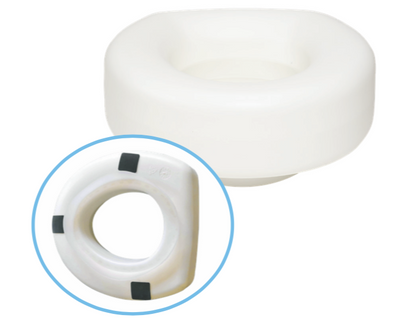 Molded Raised Plastic Toilet Seat