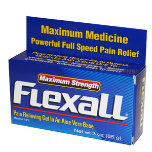 Menthol FlexaLL 454 Analgesic Topical Gel Maximum Strength