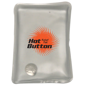 "Relief Pak® Hot Button® Reusable Instant Hot Compress - Small - 3.5"" x 5.5"""