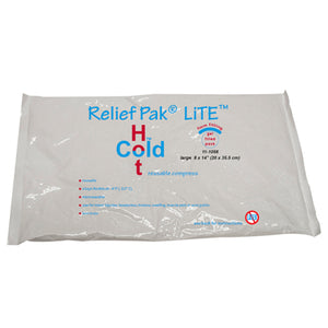 "Relief Pak® Val-u Pak™ LiTE® Cold n' Hot® Pack - 8"" x 14"" Case of 12"
