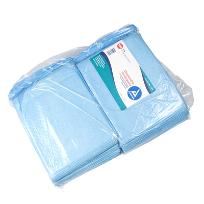 Disposable Underpads 23 x 24 (31 g) - Bag of 100 pads
