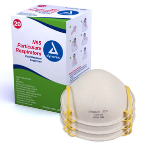 N95 Particulate Respirator Mask - molded