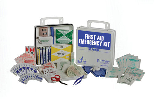 First Aid Kit, 50 Person in a Poly Case