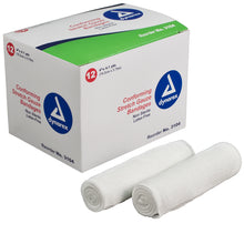 Stretch Gauze Bandages - Self adhering; stays in place with minimal taping