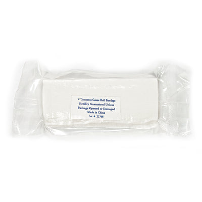 Compress Gauze Roll Bandage - 4