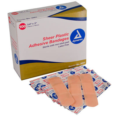 Adhesive Bandages & Sheer Strips – Sterile (3/4