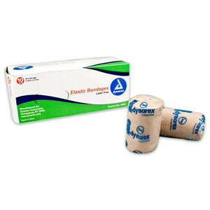 "3"" Latex Free Elastic Bandage - providing outstanding compression and stretch"