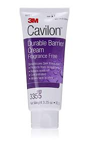 3M Cavilon Durable Barrier Cream Fragrance Free 3.25 ounce (92g) Tube