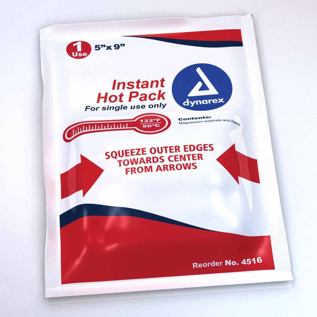 Instant Hot Pack, 5 Inches x 9 Inches (24 packs)