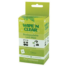 Wipe 'n Clear Biodegradable Lens Wipes (20 CT)
