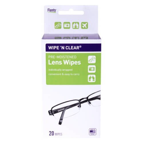 Wipe 'n Clear¨ Lens Wipes (20 CT)