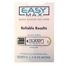 EasyMax Test Strips, 50 ct.