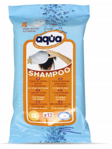 Aqua® Shampoo waterless glove