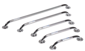 Chrome Knurled Grab Bars