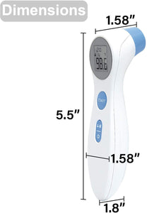 Non-Contact Medical Infrared Forehead Thermometer for Children and Adults