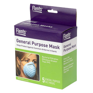 Flents Maxi-Mask (5 General Purpose face Masks)