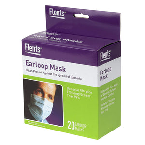 Flents High Filtration Ear Loop Mask (20 Masks)