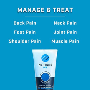 Neptune Ice Pain Relief Gel