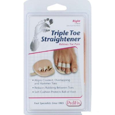 Pedifix Podiatrists' Choice® Triple Toe Straightener
