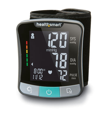 HealthSmart® Premium Series Wrist Digital Blood Pressure Monitor