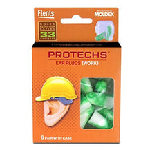 Flents Protechs Work Ear Plugs (8 Pair)