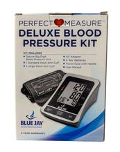 Deluxe Perfect Measure Blood Pressure Kit w/2 Cuffs