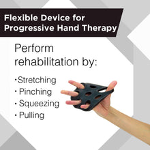TheraBand Hand Xtrainer - X-HEAVY (BLACK), Non-Latex Hand Exerciser for Progressive Hand Therapy, Strengthen Fingers, Hands and Forearms, Grip Trainer, Strengthener, Helps Relieve Joint Pain