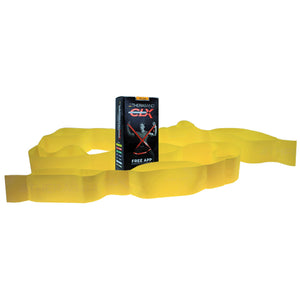 TheraBand CLX (YELLOW)- LIGHT Resistance Band with Loops
