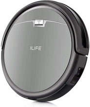 ILIFE A4s Robot Vacuum Cleaner with Powerful Suction and Remote Control, Super Quiet Design for Thin Carpet and Hard Floors, Gray