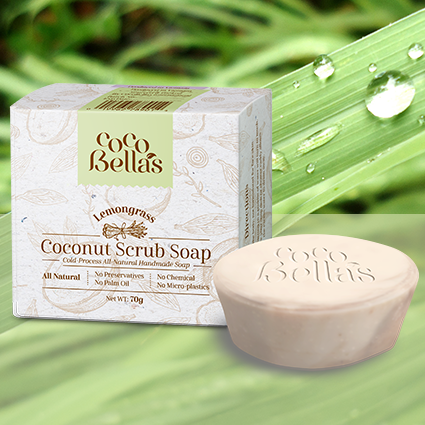 Cocobella's Coconut Body Scrub - Lemongrass