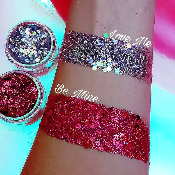 LOVE ME | Limited Edition Valentine's Day Chunky HD Glitter