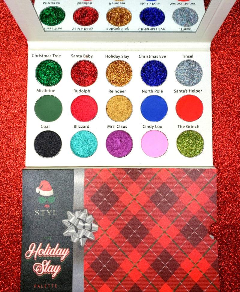 The Holiday Slay Palette