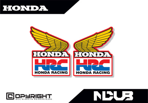 HONDA CR 1980s VMX SHROUD DECALS