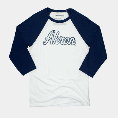 akron vintage basketball shirt