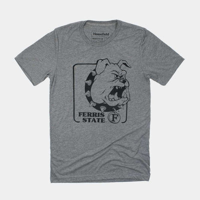 vintage ferris state bulldogs t shirt