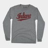 Indiana University Script Logo Long Sleeve T-Shirt