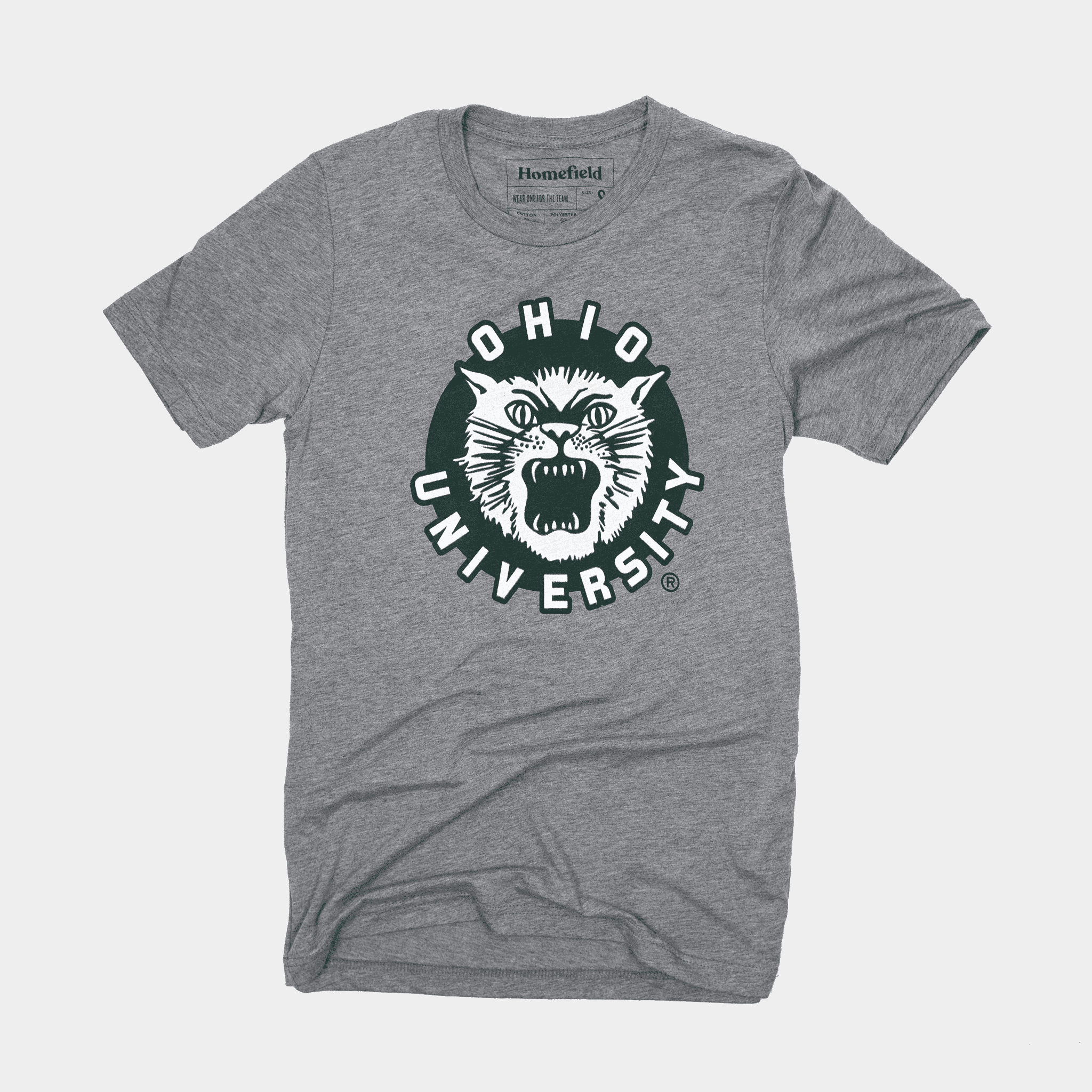 vintage ohio ou university bobcats shirt