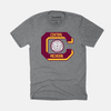 vintage central michigan seal shirt
