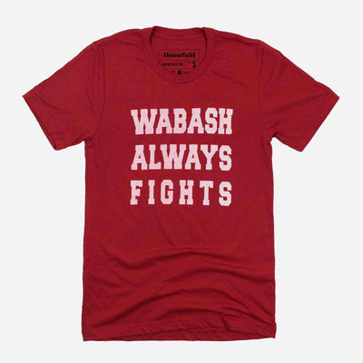 Wabash Always Fights Tee