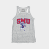 SMU Women's Racerback Tank Top